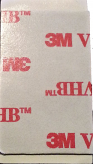 Medium 3M VHB Adhesive, Rectangular