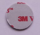 """3M VHB Adhesive, round, 0.79"""" diameter"""