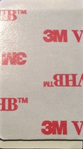 Medium 3M VHB Double Sided Adhesive, Rectangular